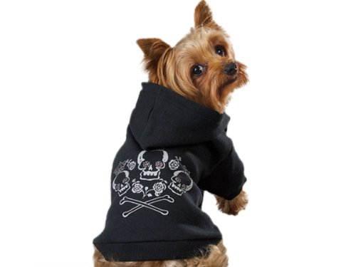 Crown Cross Bone Dog Hoodie Review